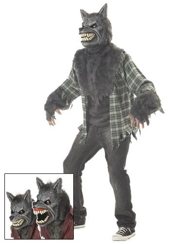 Scary Moonlight Werewolf Costume - Adult Werewolf Halloween Costumes