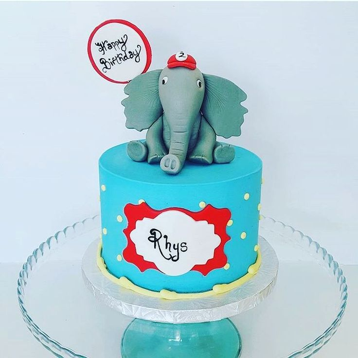 Elephant Theme 3rd Birthday Party: 25+ Best Ideas About Elephant Birthday Cakes On Pinterest