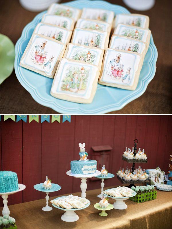beatrix potter garden party | ... First Birthday {Garden Party} - love the Beatrix Potter cookies