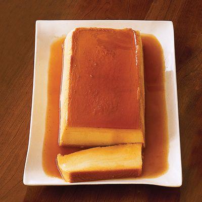 """Pumpkin Cheesecake Crème Caramel"". A definite. Good Housekeeping recipe."