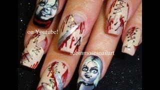 Robin Moses Nail Art   Nail Art Tutorials, Nail Art Designs   Nail Art Ideas, DIY, Easy Nails - YouTube
