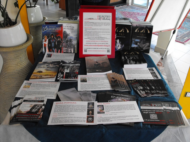 SELECTED SelfPublishing - Riccione Book Festival - Hotel Astra http://www.riccionebookfestival.it/