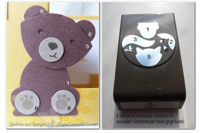 swap-onstage-stampin-up-ours-brun-detail-friends-papierciseauxetcie tuto stampin up