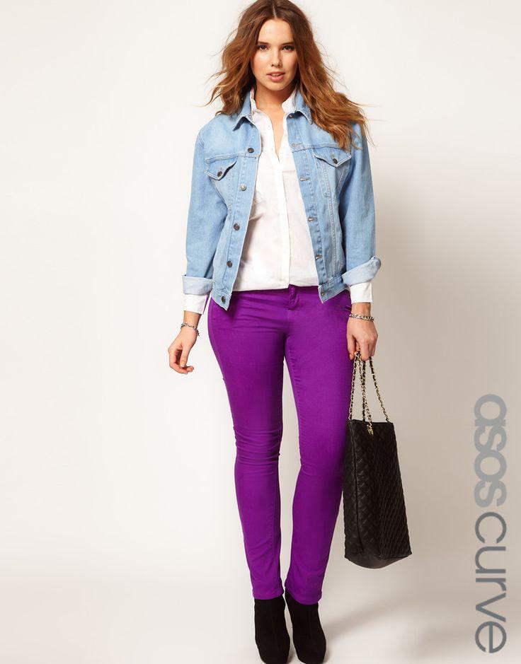 35 best purple images on Pinterest   Plus size clothing, Plus size ...