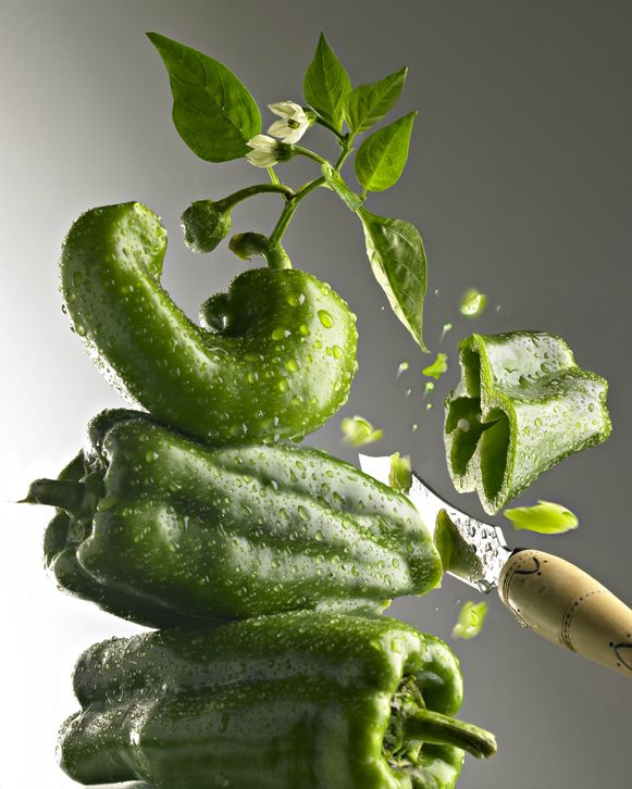 Green peppers are fructosefriendly // Find fructosefree recipes on http://fifthfloor.kitchen