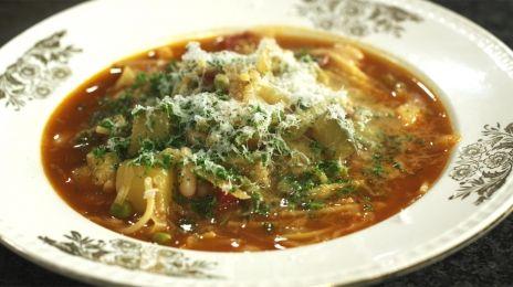 Dagelijkse kost - Minestrone soep #maaltijdsoep