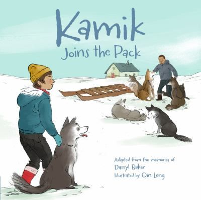 Jake cannot wait for his uncle to meet Kamik, and to see what an obedient puppy he is becoming! Jake's uncle is a great musher, who has won many dogsledding races, and if Kamik is good enough Jake hopes today might be the day that Kamik finally gets to run with a dog team!