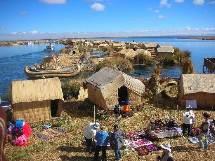 Perù, lago Titikaka