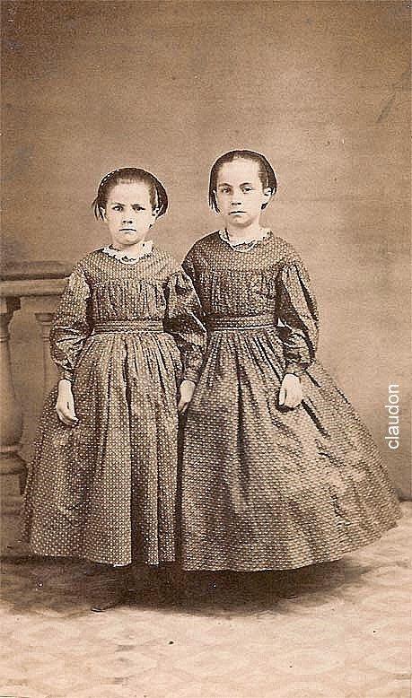 Civil War Cincinnati Sisters, ca 1864.