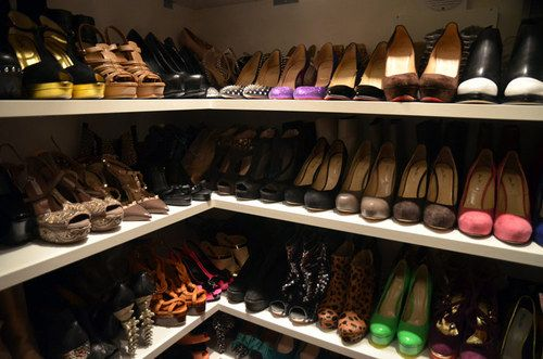 closet just for shoes Shoe room, Perfect closet, Shoe