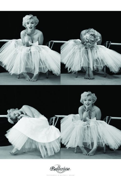 "MARILYN MONROE - the ballerina series ""10,1"""