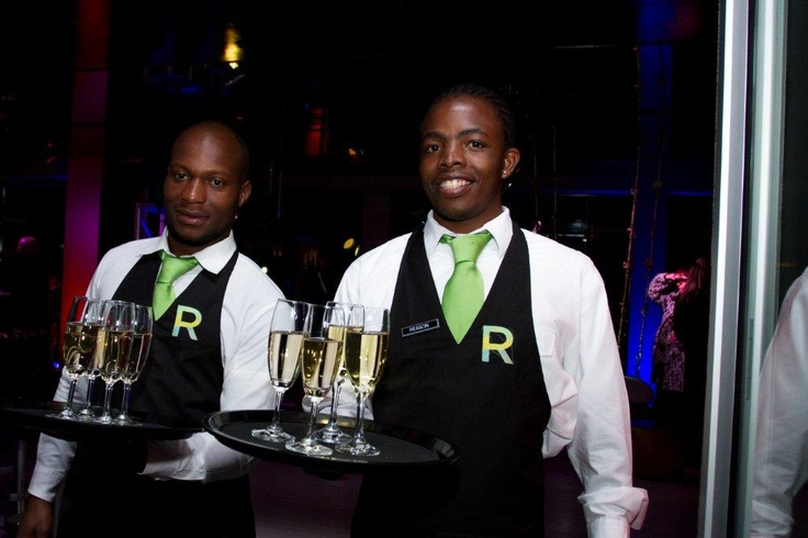 Welcome Drink.  Randlords, venue for the launch of the Morongwa House of African Fashion. www.mhafricanfashion.co.za