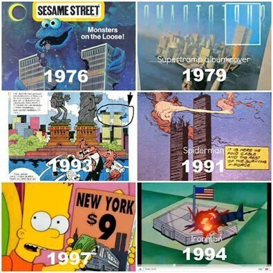 9/11 was an inside job ochestrated by the Illuminati in order to bring about the New World Order. Its in plain sight.