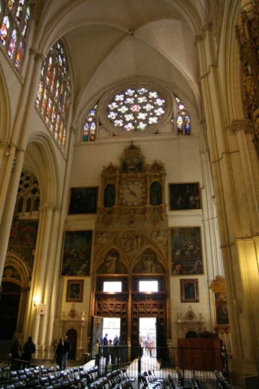 Toledo Cathedral: North Transept