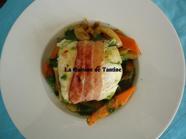 Couscous de cabillaud au lard | Cuisine de Tantine