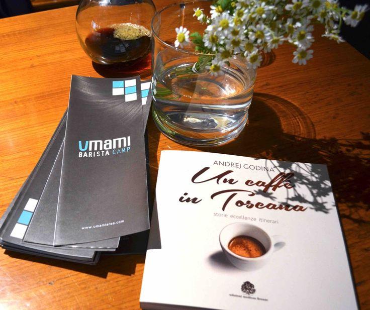 Un caffè in Toscana e Umami Area, amore per i libri e il caffè