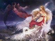 Papel de Parede Anjos