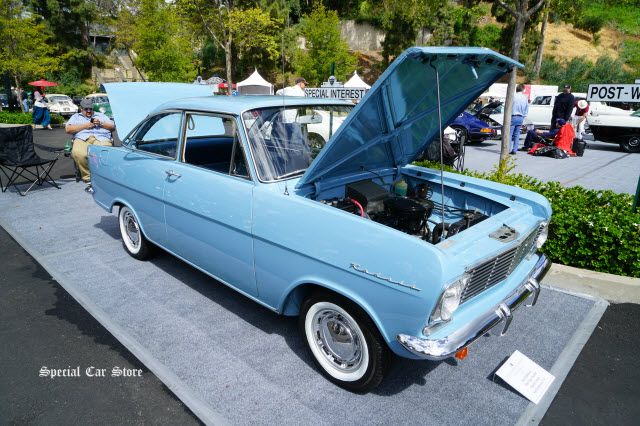 1964 Opel Kadett Sports Coupe at Greystone Mansion Concours d'Elegance 2017 Beverly Hills CA http://www.specialcarstore.com/content/wheeler-dealers-greystone-concours-delegance-2017