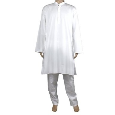 Mens Yoga Clothes Cotton Kurta Pyjama: Amazon.co.uk: Clothing