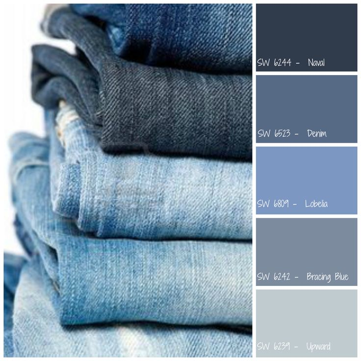 Sherwin williams denim blues sherwin williams color for Blue jean paint color
