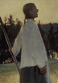 Ellen Thesleff, Kaiku, 1890-91