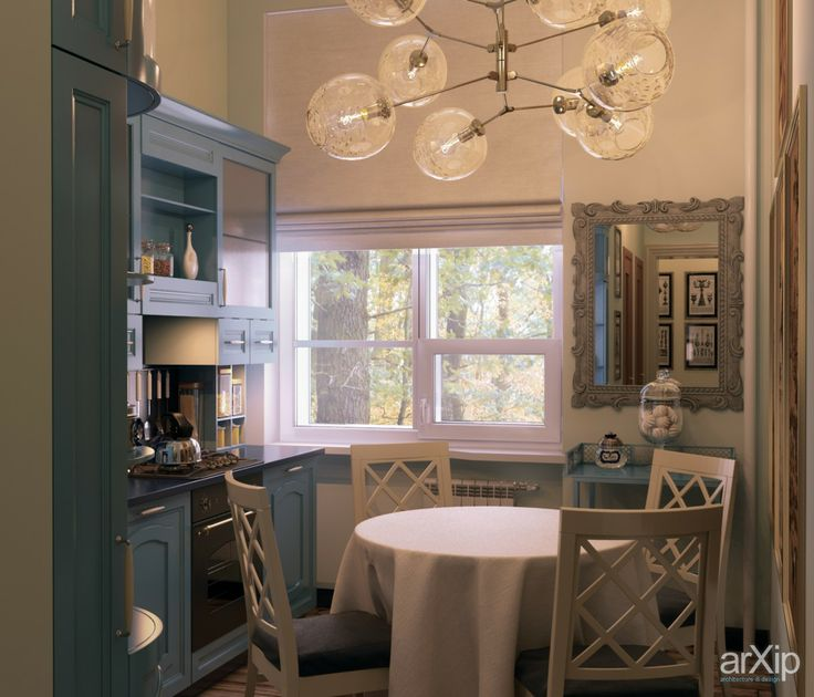 кухня: интерьер, зd визуализация, квартира, дом, кухня, французский, прованс, 10 - 20 м2, интерьер #interiordesign #3dvisualization #apartment #house #kitchen #cuisine #table #cookroom #french #provence #10_20m2 #interior