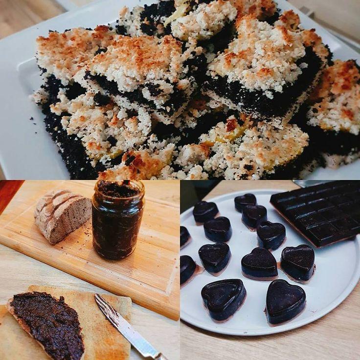 Hajdinás kenyér, morzsás süti, paleo-vegán csoki