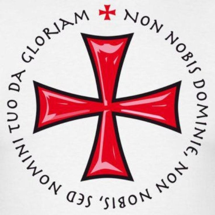 Non nobis Domine non nobis sed Nomini Tuo da gloriam. Not unto us, O Lord, not unto us, but to thy name give the glory.