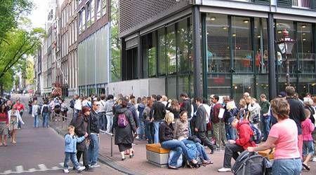 Anne Frank House Line