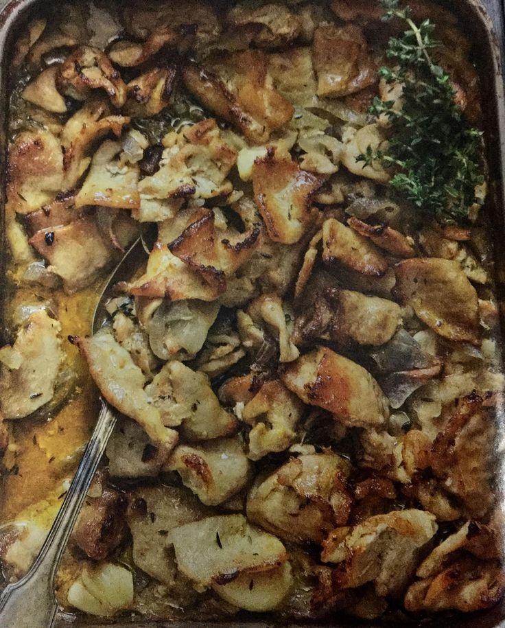 Χοιρινό ψιλοκομμένο στον φούρνο με κρεμμύδια και μουστάρδα (2 μονάδες)