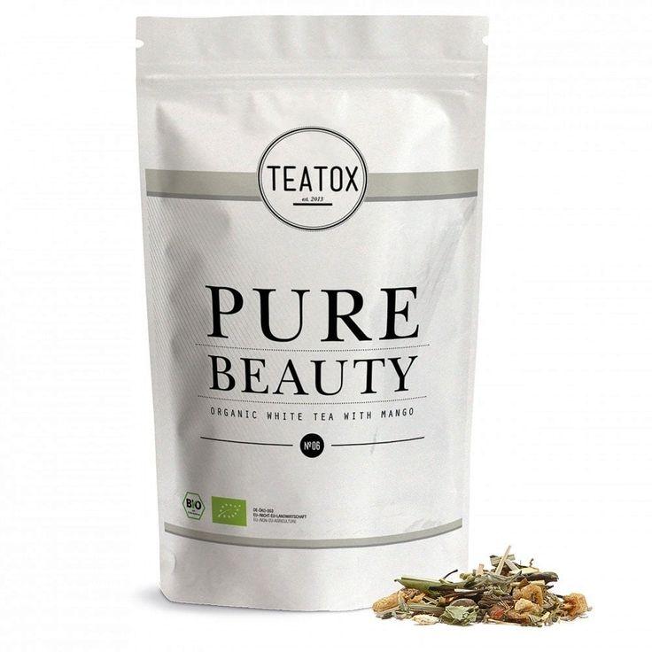 Teatox Pure Beauty - Utántöltő tasak, 60 g