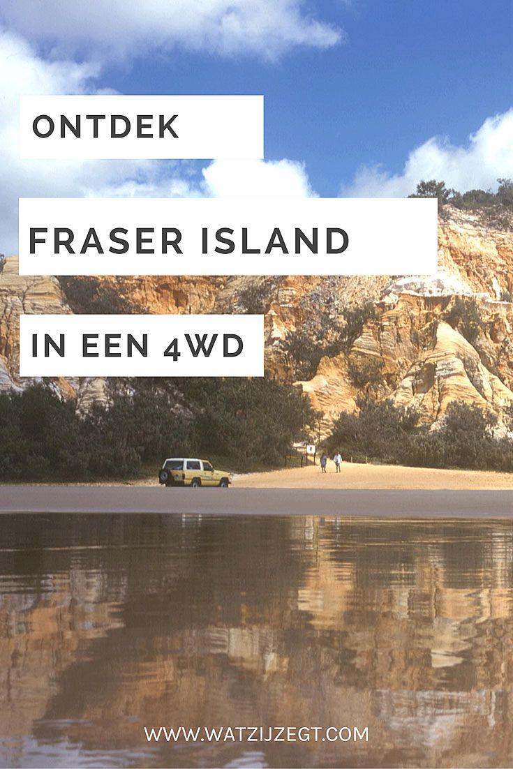 Verken Fraser Island in een 4WD // Explore Fraser Island per 4WD