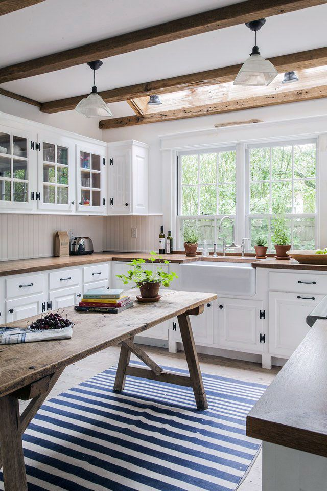 57 Gorgeous Farmhouse Scandinavian Kitchen Ideas That People Really Want In 2020 Farmhouse Kitchen Design Cottage Kitchen Design Modern Farmhouse Kitchens