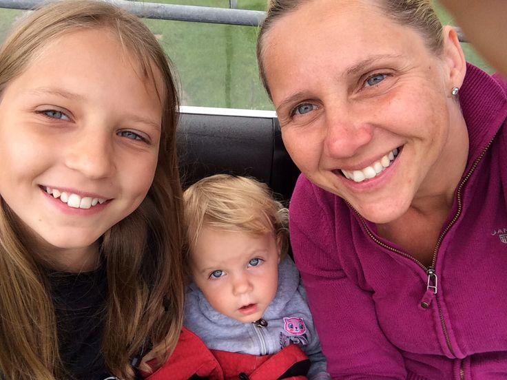 3 baby na lanovce Tauplitz 2014
