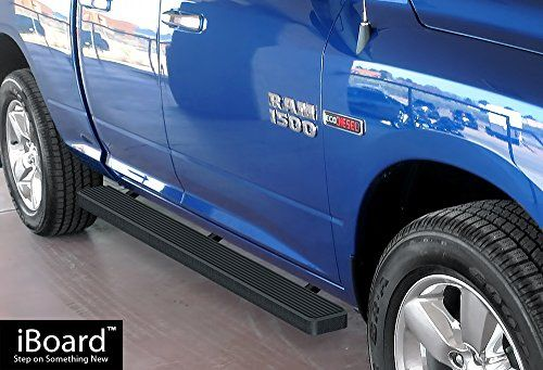 iBoard Running Board Black 4 Fit Dodge Ram 1500 Quad Cab 0917 ** To view further for this item, visit the image link.