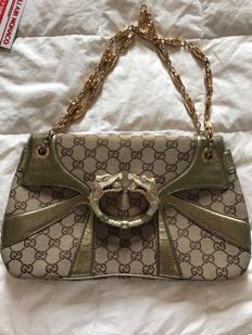 6d8fa1a1203f Gucci - Monogram GG Tom Ford Jeweled - Dragon Schoudertas   Bags and ...
