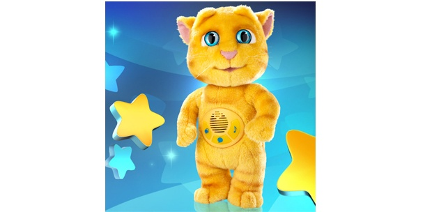 Talking Ginger App is Now a Plush Doll That Refuses to Shut Up