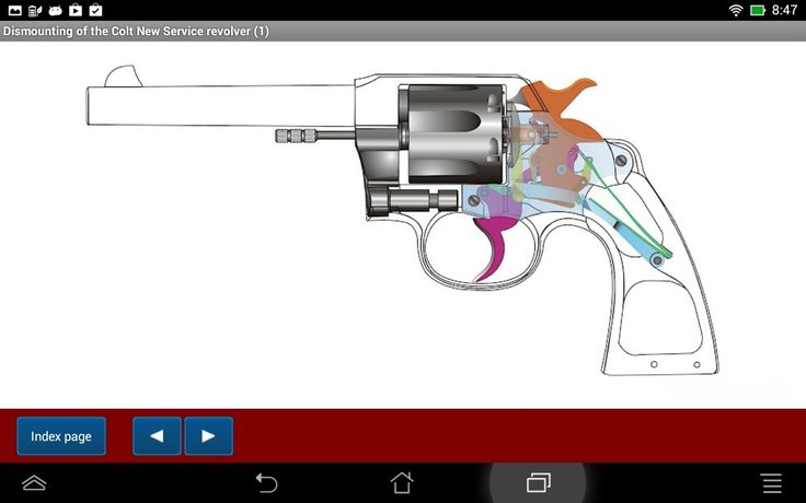 Colt New Service revolver explained - Android APP - HLebooks.com