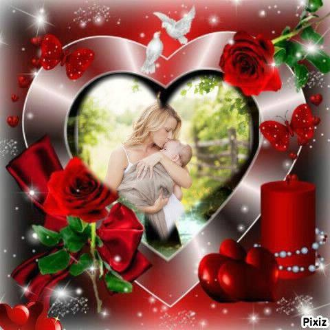 coeur de la st valentin sur pixiz - Pixiz Montage Mariage