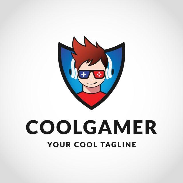 Crazy Cool Gamer Logo Design Logotipo Do Jogo Modelos De Logotipo Design De Logotipo