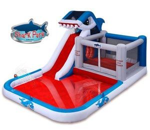 The Best Shark Decorations for Your Yard and Party: Blast Zone Shark Park