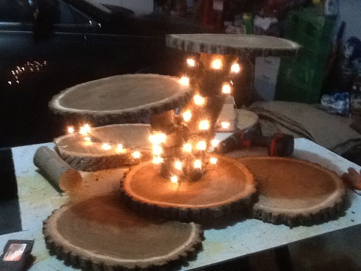17 Best Ideas About Wood Cupcake Stand On Pinterest