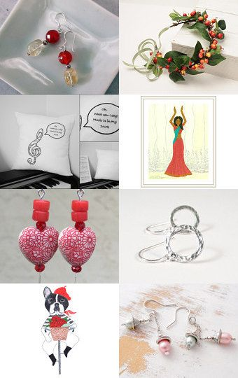 Spring Dance by Anita T. on Etsy--Pinned with TreasuryPin.com