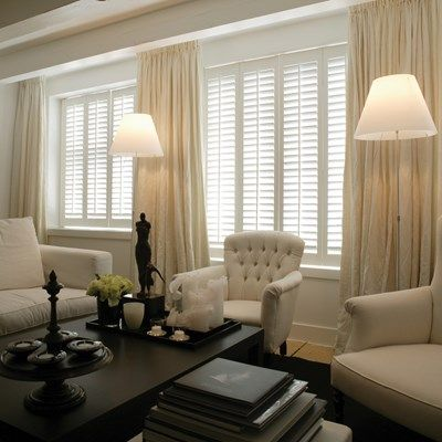 Internet # 206930502  DIY Composite Wood Shutter  BRAND: HOME DECORATORS COLLECTION  Having beautiful shutters in your home has never been easier with the DIY Composite Wood Shutter from Home Decorators Collection! Shutters add value to your home and with their unique 5-step installation, with no specialty tools or training required, these shutters are perfect for beginning home improvers.    Through out the whole house.