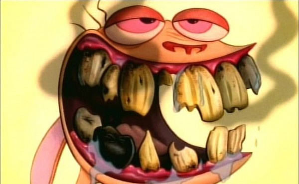 The art on Ren and Stimpy, especially the gross-out closeups, was great!