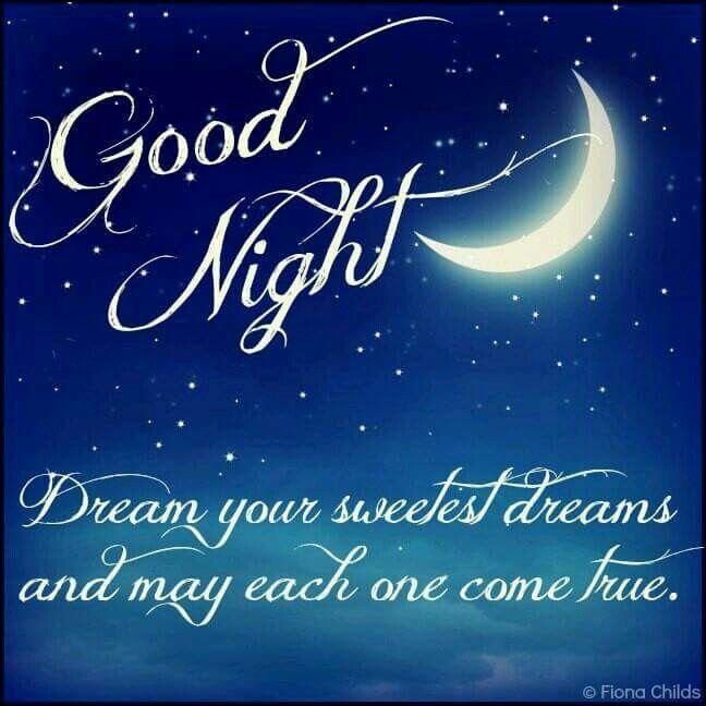 Goodnight Sweet Dreams TY Debbie!