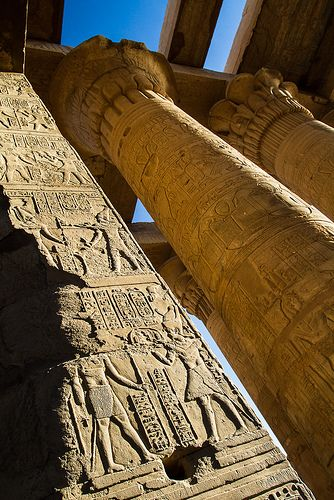 :::: PINTEREST.COM christiancross ::::     Kom Ombo Egypt
