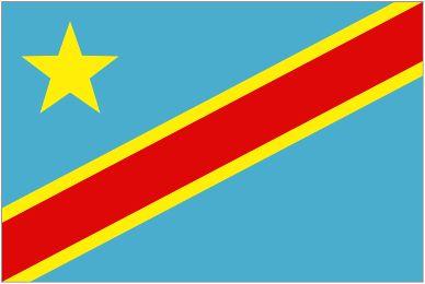 Congo-Kinshasa_ National Flag