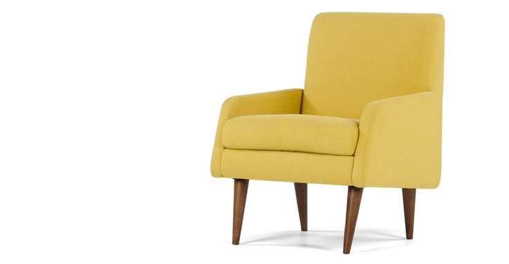 Profile Chair, Amber Linen | made.com