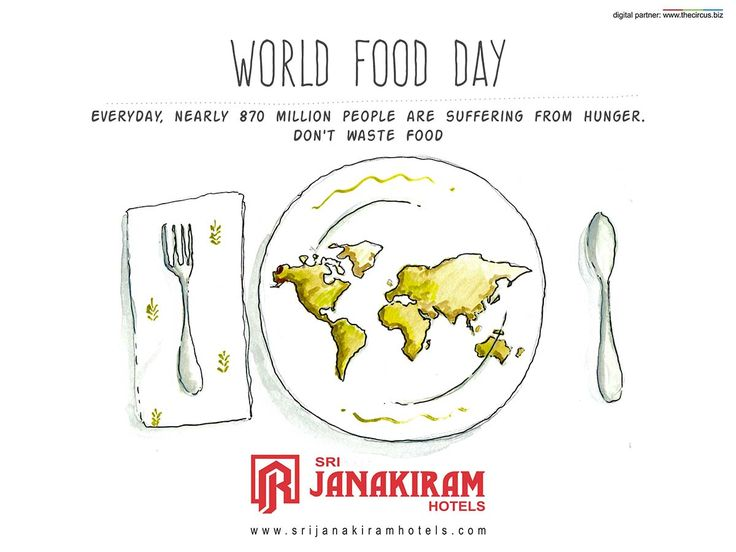 You can't build a peaceful world on empty stomachs and human misery - Dr Norman Ernest Borlaug DONT WASTE FOOD  #srijanakiram #worldfoodday #wastenofood